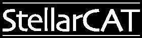 StellarCAT white Logo
